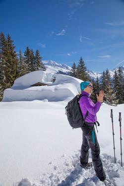 Snowshoeing with Cherries Walks