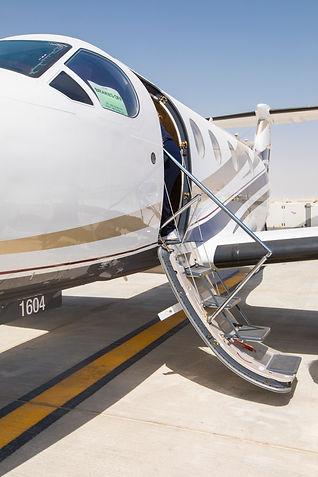 GI aviations private jet