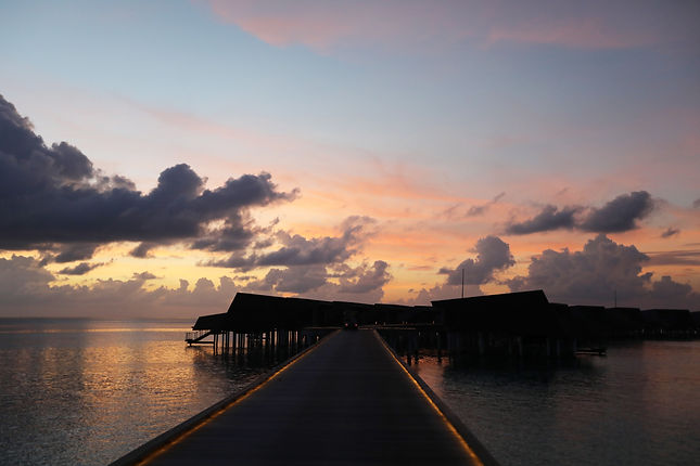 Maldivian Sunset - St Regis Maldives
