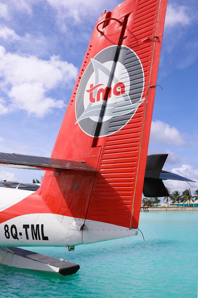 Sea plane at Finolhu