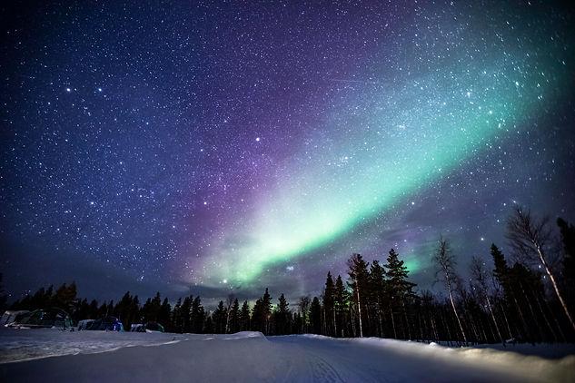 Aurora Boreais, Lapland