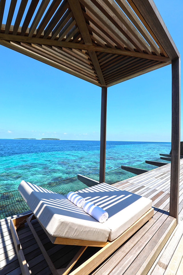 Deck - St Regis maldives
