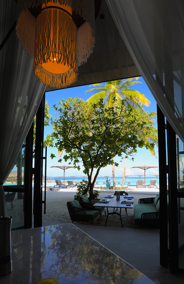 Alba restaurant - St Regis Maldives