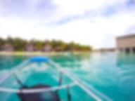 Clear Kayak - St Regis Maldives