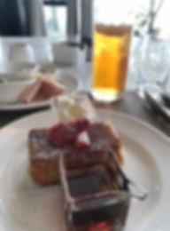 Breakfast at Alba - St Regis Maldives