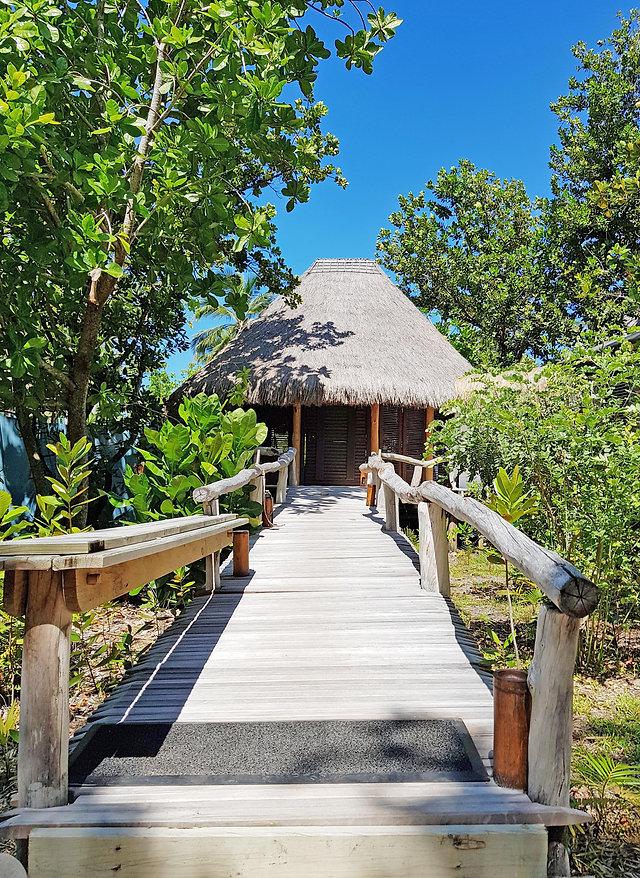 Villa Entrance North Island Seychelles