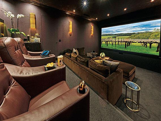 HOME MOVIE THEATERS  Award-Winning Home Theaters