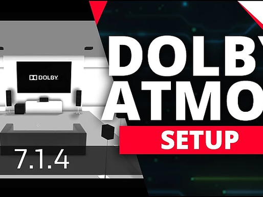 Dolby Atmos Speaker Configuration Guide