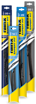 We carry a large selection of rainx windshield wipers