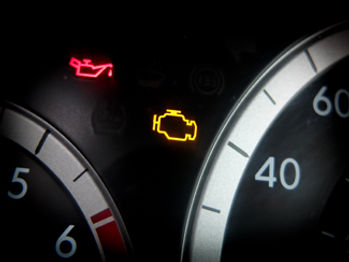 Does your car have engine lights on?
