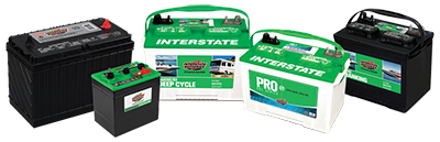 We stock a wide variety of Interstate Batteries