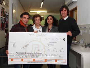 Campanha de Solidariedade angaria mais de 500€ a favor da Associação Oncológica do Algarve