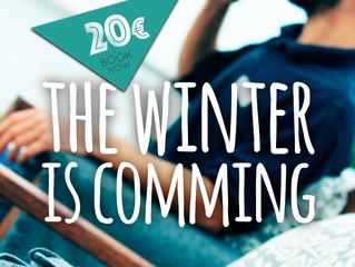 O Inverno está à porta e com ele chegam preços mais atrativos para o alojamento local
