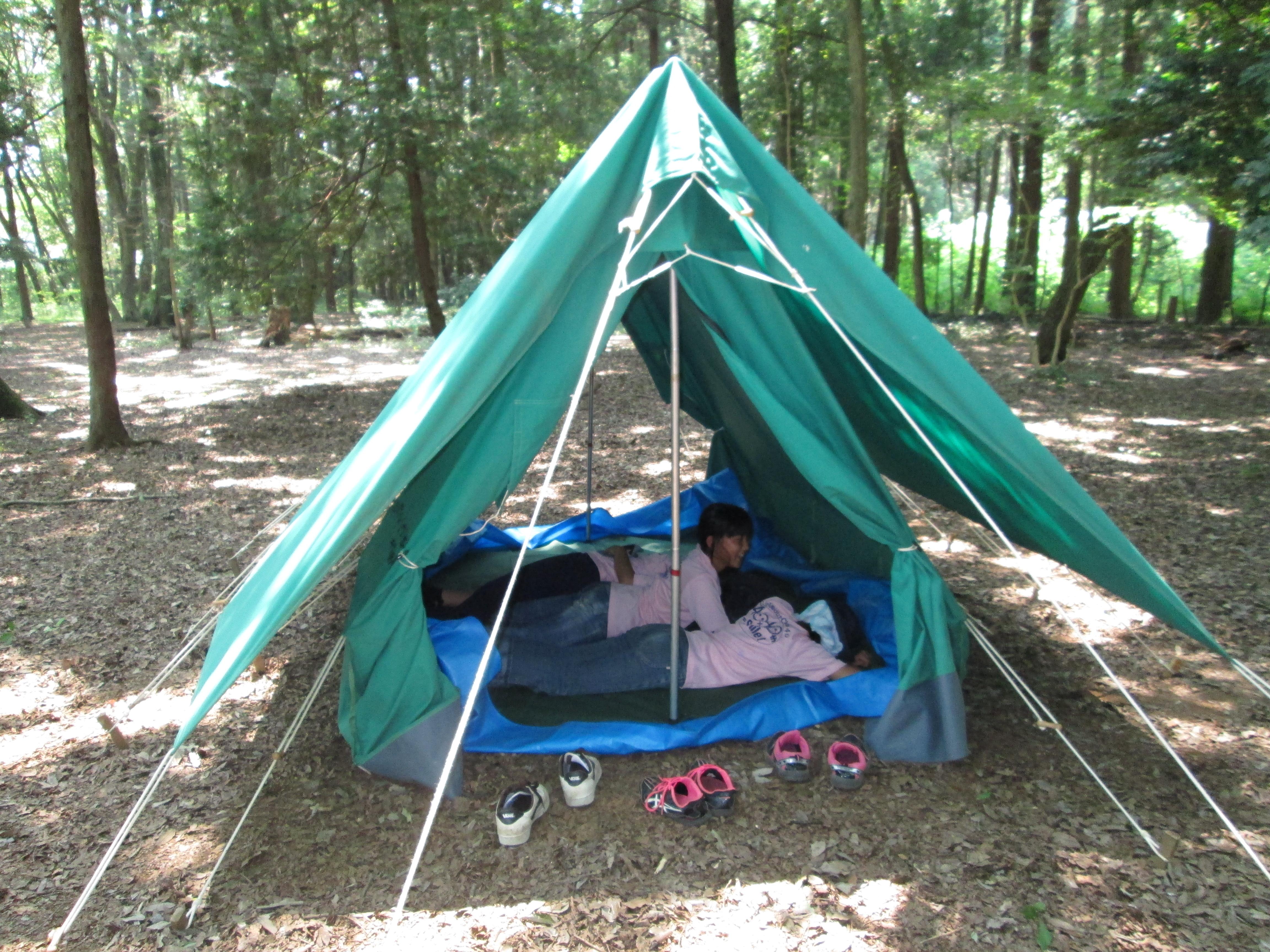 キャンプ訓練