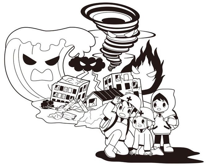 防災イベント「ガールスカウトカフェ」
