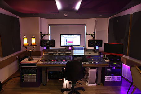 The Audient Studio at Castle Rock Studios