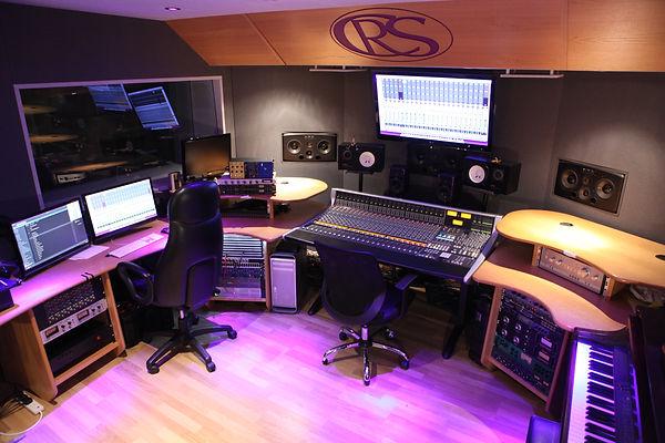 The SSL Studio at Castle Rock Studios