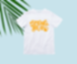 simulation tee shirt print spring break