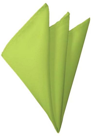 Pear Green Pocket Square