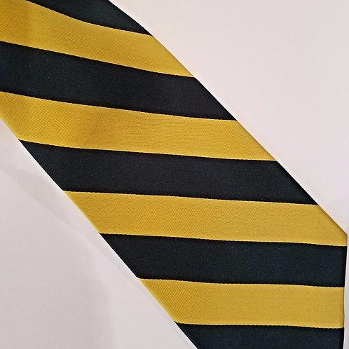 SALE Gold/Green Schoolboy Stripe