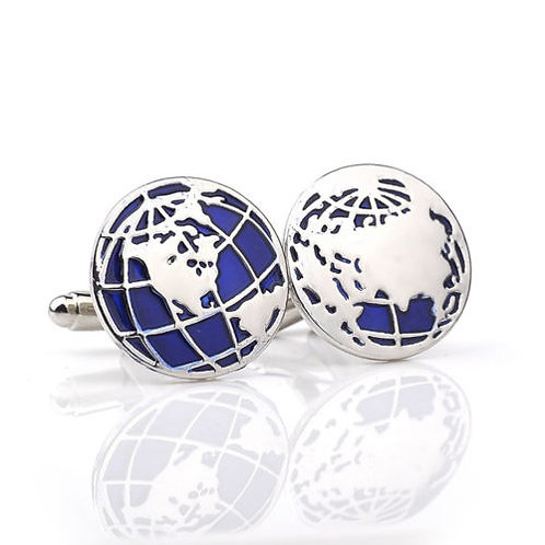 Blue World Cufflinks
