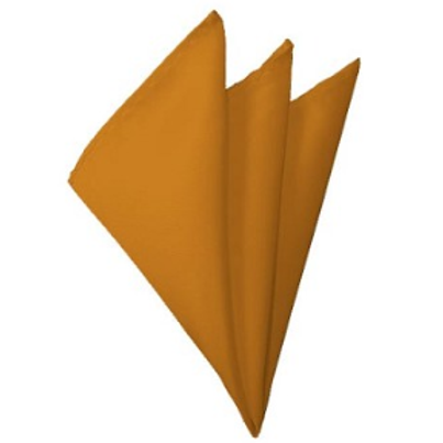 Solid Gold Pocket Square
