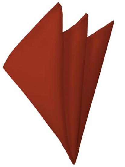 Rust Pocket Square