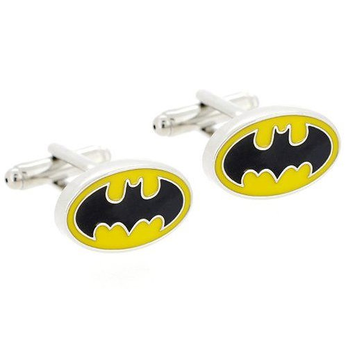 Yellow/Black Batman Cufflinks