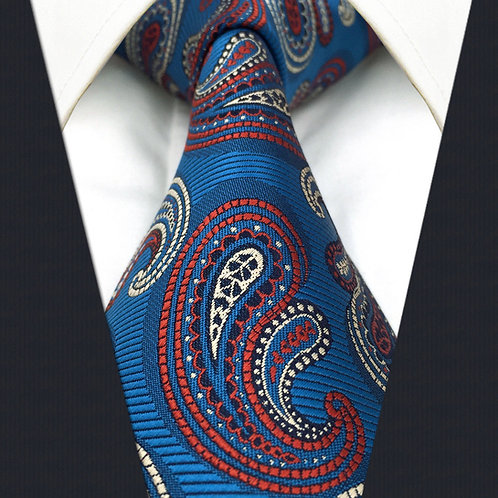 Beautiful Blue Classic Paisley