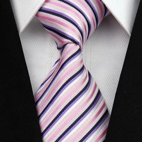 Pink/Purple Mini Stripes