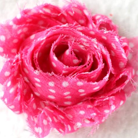 Pink/Whtie Dot Lapel Pin