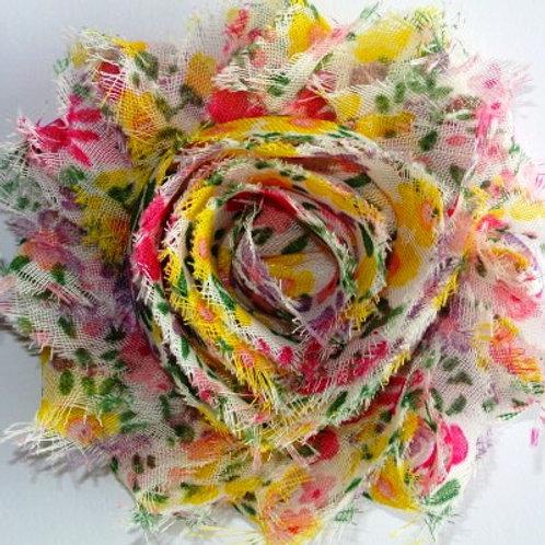 Yellow Floral Lapel Pin