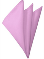 Light Pink Pocket Square