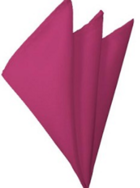 Rose Pink Pocket Square
