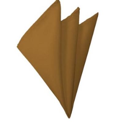 Copper Pocket Square