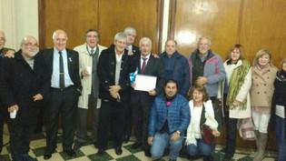 Alberto Kahale fue distinguido por el Rotary Club