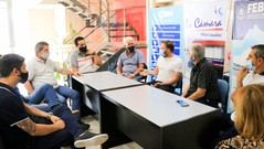 El presidente de la Cámara de Diputados bonaerense visitó la Filial Llavallol