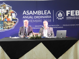 Camilo Alberto Kahale fue reelecto presidente de FEBA