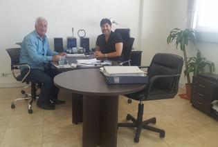 Reunión con el delegado regional del Ministerio de Trabajo