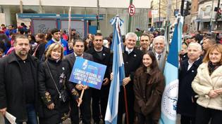 Miles de lomenses celebraron el Bicentenario