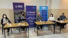 Jóvenes Empresarios de FEBA en la Cámara