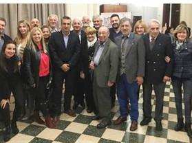 El Rotary Club distinguió a Antonio Marcelo Venezia