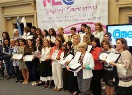 Recibieron distinciones mujeres empresarias lomenses