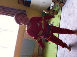 Lucas aged 4...