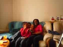 Me and three...