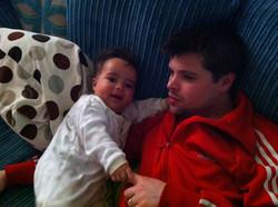 Morgan at 5 months...