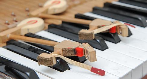 Upright piano repairs