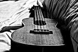 Ukulele-Black-And-White-Wallpaper-Deskto
