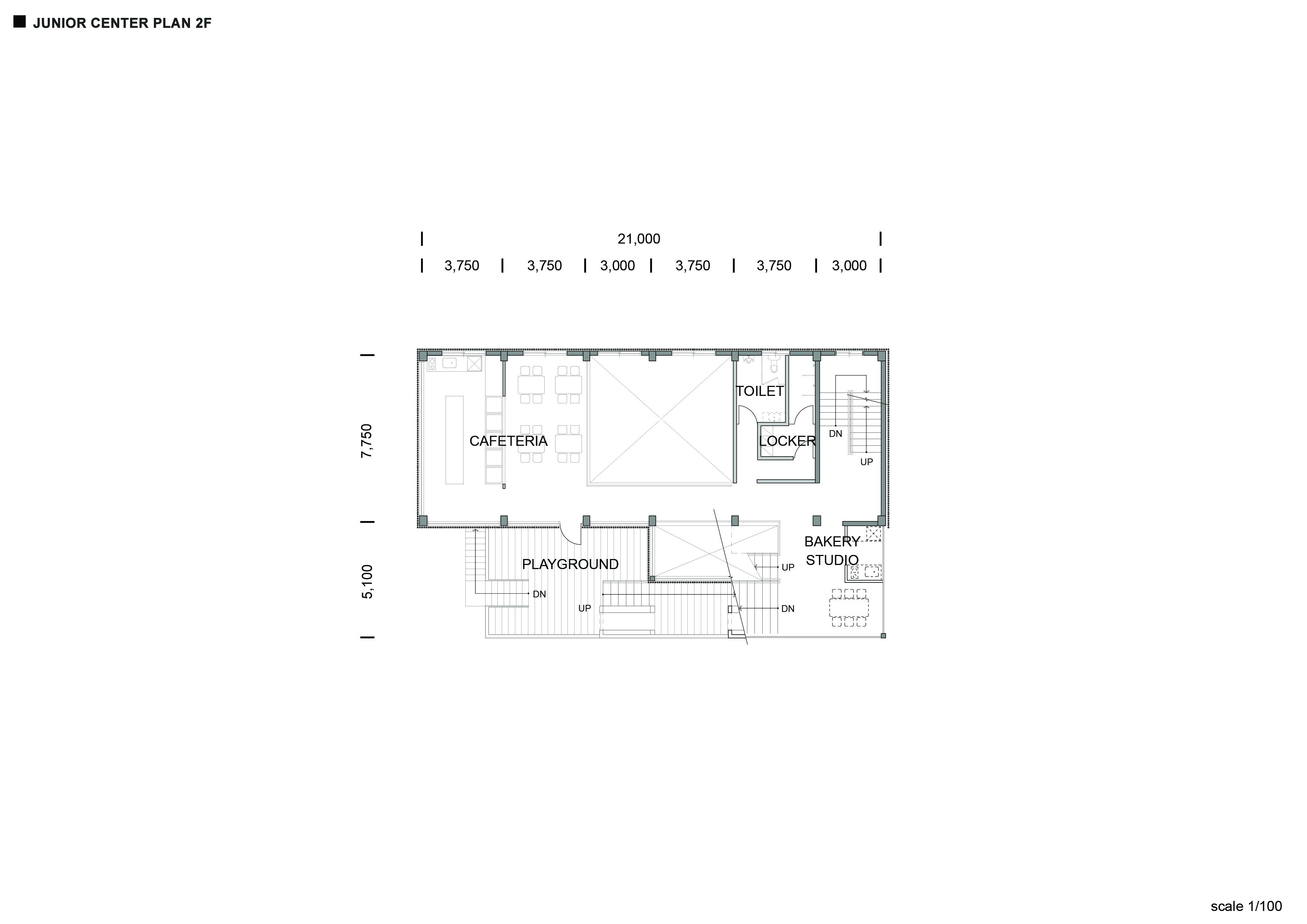 Junior Center_ Plan_ 2F