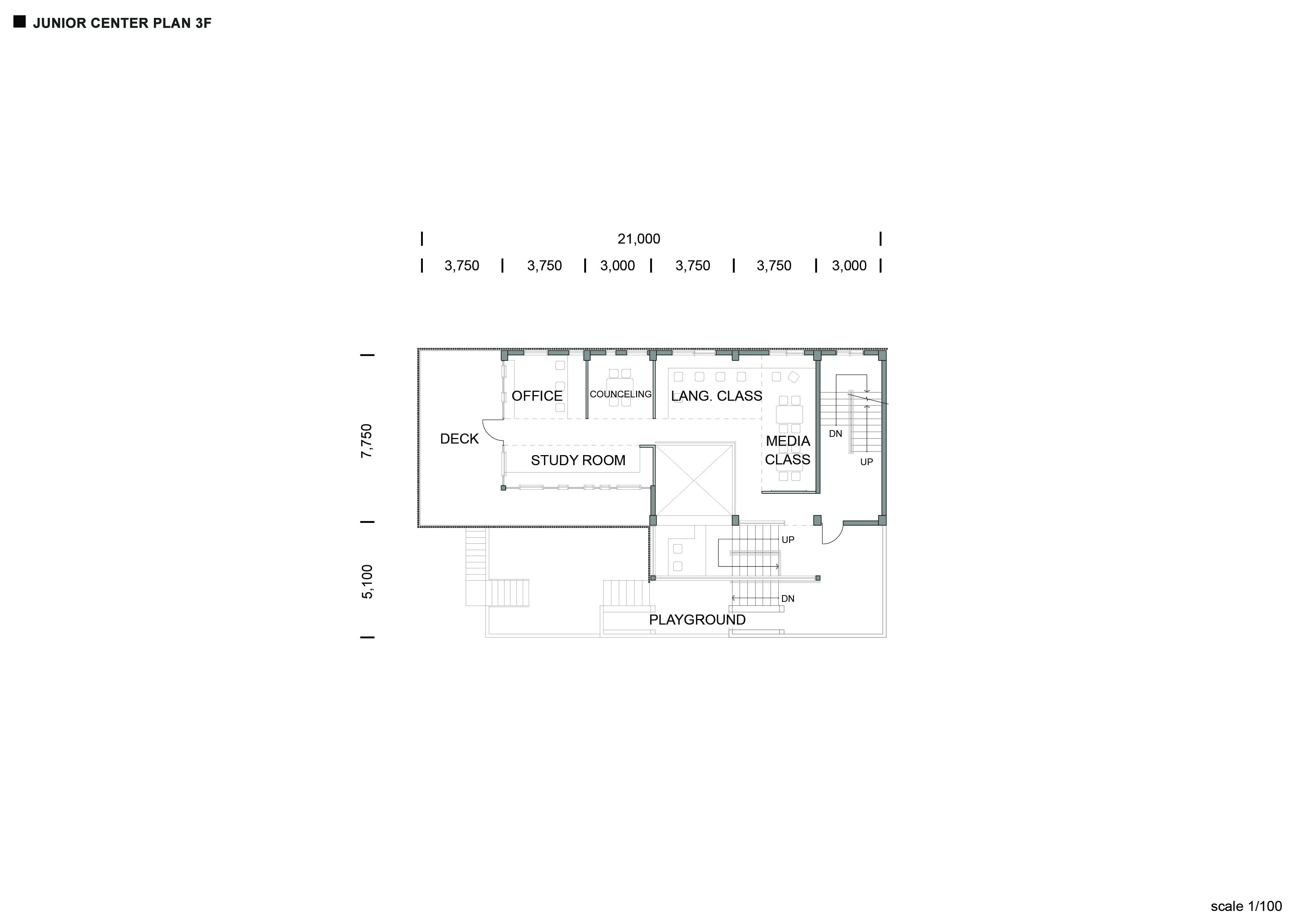 Junior Center_ Plan_ 3F